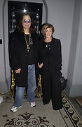 OZZY AND SHARON OSBORNE. Jay Jopling and White Cube host a post Frieze opening party at Sketch. London. 20 October 2005. ONE TIME USE ONLY - DO NOT ARCHIVE © Copyright Photograph by Dafydd Jones 66 Stockwell Park Rd. London SW9 0DA Tel 020 7733 0108 www.dafjones.com