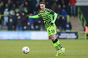 Forest Green Rovers Aaron Collins(10) during the The FA Cup match between Forest Green Rovers and Carlisle United at the New Lawn, Forest Green, United Kingdom on 30 November 2019.