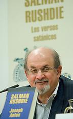 OCT 03 2012 Salman Rushdie Book Launch