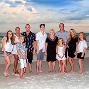 Hardwick-Singleton Family Beach Photos - 2018