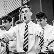 Sacred Heart College Leavers 2017 - Haka