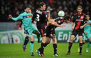 Fussball Uefa Champions League 2011/12: Bayer Leverkusen - FC Barcelona