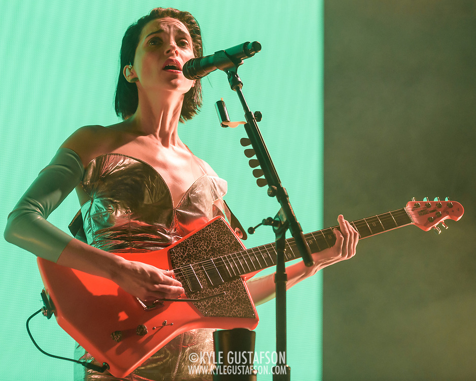 WASHINGTON, DC - November 27th, 2017 - St. Vincent performs at The Anthem in Washington, D.C. as part off her Fear The Future Tour. Her latest album, Masseduction, was released in October. (Photo by Kyle Gustafson / For The Washington Post)