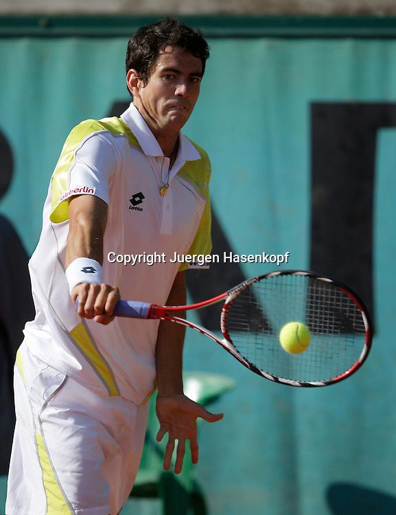 French Open 2009, Roland Garros, Paris, Frankreich,Sport, Tennis, ITF Grand Slam Tournament,  ..Guillermo Garcia-Lopez (ESP)...Foto: Juergen Hasenkopf..