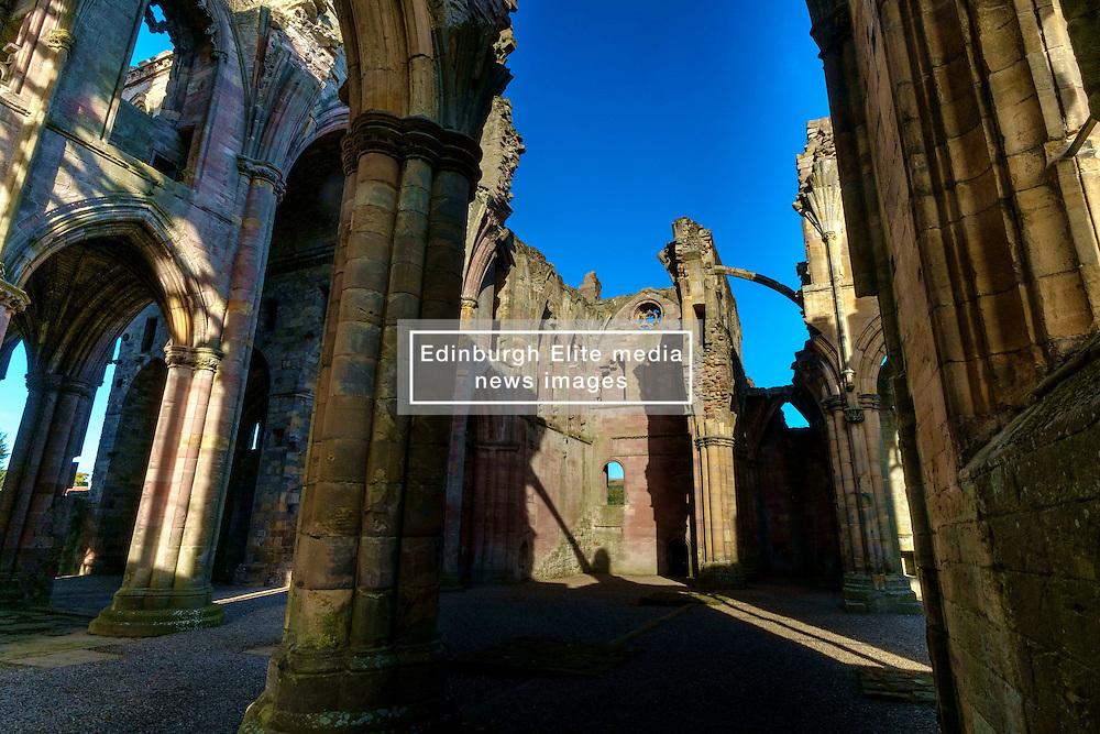 Melrose Abbey, Melrose. Scottish Borders<br /> <br /> (c) Andrew Wilson   Edinburgh Elite media