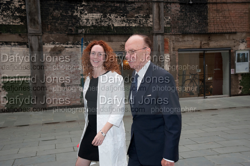 REBEKAH WADE; RUPERT MURDOCH, Summer party hosted by Rupert Murdoch. Oxo Tower, London. 17 June 2009