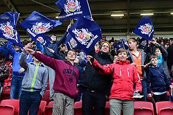 Bristol Rugby fans - Mandatory by-line: Dougie Allward/JMP - 26/02/2017 - RUGBY - Ashton Gate - Bristol, England - Bristol Rugby v Bath Rugby - Aviva Premiership