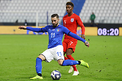 VITTORIO PARIGINI (ITALY)     <br /> Football friendly match Italy vs England u21<br /> Ferrara Italy November 15, 2018<br /> Photo by Filippo Rubin