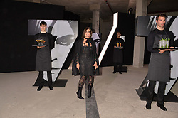 Carine Roitfeld at the Veuve Clicquot Widow Series launch party curated by Carine Roitfeld and CR Studio held at Islington Green, London England. 19 October 2017.