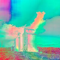 color blocked landscapes