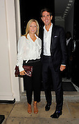 07.SEPTEMBER.2011. LONDON<br /> <br /> GUESTS LEAVING THE MAYFAIR ARTS CLUB AFTER ATTENDING A COACH & GWYNETH PALTROW DINNER TO CELEBRATE THE 70TH ANNIVERSARY OF THE BAG COMPANY.<br /> <br /> BYLINE: EDBIMAGEARCHIVE.COM<br /> <br /> *THIS IMAGE IS STRICTLY FOR UK NEWSPAPERS AND MAGAZINES ONLY*<br /> *FOR WORLD WIDE SALES AND WEB USE PLEASE CONTACT EDBIMAGEARCHIVE - 0208 954 5968*