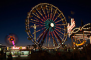 The Coastal Carolina Fair in Charleston, South Carolina.