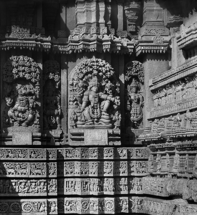 Somnathpur Temple, Mysore, India, 1929
