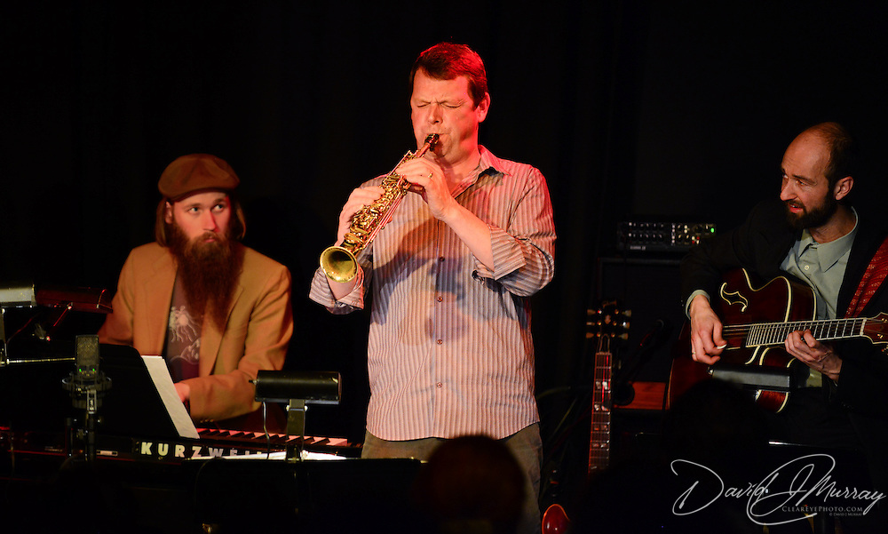 Saxophonist and PMAC faculty member Matt Langley performs in Jazz Night 2013 at The Loft in Portsmouth, NH