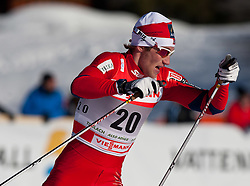05.01.2011, Nordic Arena, Toblach, ITA, FIS Cross Country, Tour de Ski, Qualifikation Sprint Women and Men, im Bild Simen Oestensen (NOR, #20). EXPA Pictures © 2011, PhotoCredit: EXPA/ J. Groder