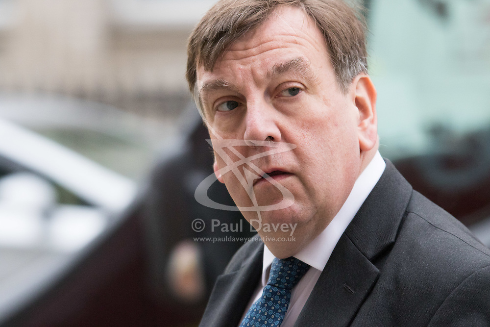 Westminster, London, March 23rd 2016. Culture, Media and Sport Secretary John Whittingdale spotted walking up Whitehall. ©Paul Davey<br /> FOR LICENCING CONTACT: Paul Davey +44 (0) 7966 016 296 paul@pauldaveycreative.co.uk