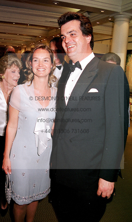 LORD HOWLAND and MISS LOUISE CRAMMOND <br /> at a dinner in London on 18th June 2000.OFJ 67<br /> &copy; Desmond O&rsquo;Neill Features:- 020 8971 9600<br />    10 Victoria Mews, London.  SW18 3PY <br /> www.donfeatures.com   photos@donfeatures.com<br /> MINIMUM REPRODUCTION FEE AS AGREED.<br /> PHOTOGRAPH BY DOMINIC O'NEILL