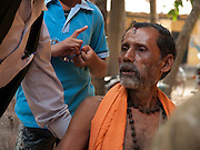 Village priest - he has been on the job for the last 40 years..
