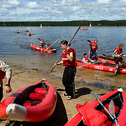 Pro-Putin Nashi youths participate in a summer camp on Lake Seliger in Russia. The yearly camp, organised by the nationalistic group, trains youth in political activism.