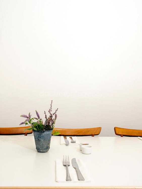 A table La Rochelle Canteen, London