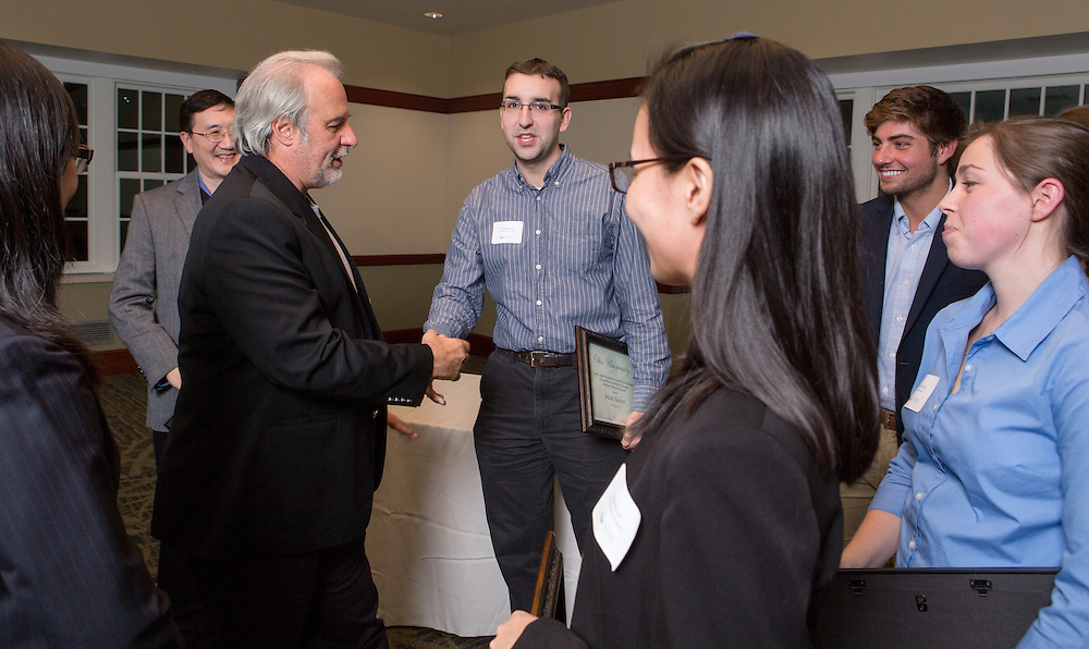 Molecular Cell Biology Retreat and Banquet in Nelson Dining Commons on Nov. 1, 2014. Photo by Lauren Pond