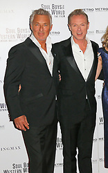 © Licensed to London News Pictures. 30/09/2014, UK. Martin Kemp; Gary Kemp, Soul Boys Of The Western World, Spandau Ballet: The Film - European film premiere, Royal Albert Hall, London UK, 30 September 2014. Photo credit : Richard Goldschmidt/Piqtured/LNP