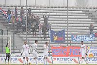 SUPPORTERS DE CHATEAUROUX - 24.01.2015 - Clermont / Chateauroux  - 21eme journee de Ligue2<br />Photo : Jean Paul Thomas / Icon Sport