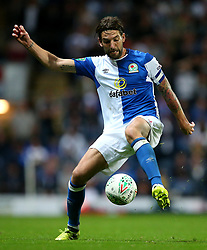 Charlie Mulgrew of Blackburn Rovers - Mandatory by-line: Matt McNulty/JMP - 23/08/2017 - FOOTBALL - Ewood Park - Blackburn, England - Blackburn Rovers v Burnley - Carabao Cup - Second Round