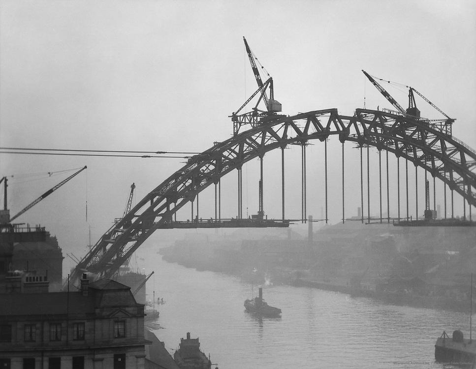 New Bridge, Newcastle on Tyne, England, 1925