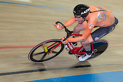 March 2, 2019 - Pruszkow, Poland - Jan Wilem Van Schip (NED) competes in the Men's Omnium Final on day four of the UCI Track Cycling World Championships held in the BGZ BNP Paribas Velodrome Arena on March 02 2019 in Pruszkow, Poland. (Credit Image: © Foto Olimpik/NurPhoto via ZUMA Press)