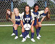 FIU Women's Soccer 2012 Team Photos