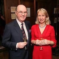 Comte Alexandre de Lur-Saluce and Nikki Moores