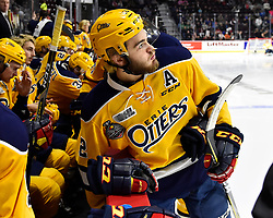 Action from the semi-final game at the 2017 MasterCard Memorial Cup between the Erie Otters and Saint John Sea Dogs at the WFCU Centre in Windsor, ON on Friday May 26, 2017. Photo by Aaron Bell/CHL Images