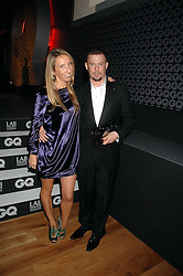 SAM TAYLOR-WOOD and ALEXANDER McQUEEN at the 10th annual GQ Men of the Year Awards held at the Royal Opera House, Covent Garden, London on 4th September 2007.<br /><br />NON EXCLUSIVE - WORLD RIGHTS