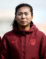 International Women's Friendly Matchs 2019 / <br /> Womens's Algarve Cup Tournament 2019 - <br /> Denmark v China 1-0 ( Complexo Desportivo - Vila Real Santo Antonio,Portugal ) - <br /> GU YASHA of China