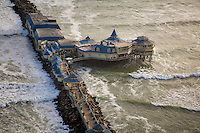 Lima, Peru- March 21, 2015:  View of Rosa Naútica, a restaurant off a long pier off Lima's coastline. Despite it's 80 miles of coastline, there only a few bars and restaurants actually located on the ocean. CREDIT: Chris Carmichael for The New York Times