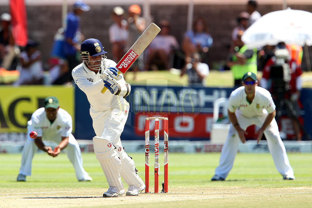 Virender Sehwag of India during day 5 of the 3rd test between South Africa and India held at Sahara Park Newlands Stadium in Cape Town on the 6 January 2011..Photo by Ron Gaunt/BCCI/SPORTZPICS