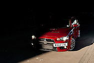 Mitsubishi Lancer Evo 10.26/10/2011..photo by Alex Hewitt.alex.hewitt@gmail.com.07789871540