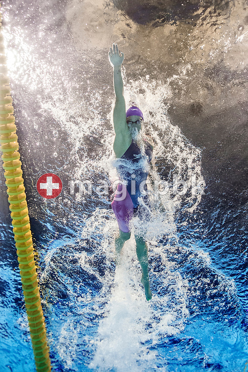 Mireia Belmonte Garcia of Spain competes in the women's 800m Freestyle Heats during the 15th FINA World Aquatics Championships at the Palau Sant Jordi in Barcelona, Spain, Friday, Aug. 2, 2013. (Photo by Patrick B. Kraemer / MAGICPBK)