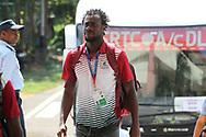Mohun Bagan A.C. player arrives during the 2nd semi final match of the Hero Super Cup between Mohun Bagan and Bengaluru FC held at the Kalinga Stadium, Bhubaneswar, India on the 17th April 2018<br /> <br /> Photo by: Deepak Malik / SPORTZPICS