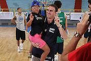 Cagliari, 05/08/2009<br /> Nazionale Italiana Maschile incontra i ragazzi di Special Olympics<br /> Nella foto: Carlo Recalcati, special olympics<br /> Foto Ciamillo