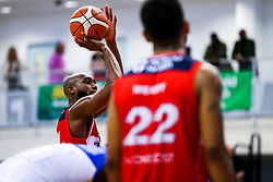 Brandon Boggs of Bristol Flyers - Rogan/JMP - 13/10/2017 - BASKETBALL - SGS Wise Arena - Bristol, England. - Bristol Flyers v Cheshire Pheonix - BBL Cup.