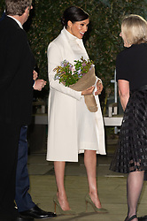 February 12, 2019 - London, London, United Kingdom - Meghan Duchess of Sussex arrives at the Natural History Museum gala performance of 'The Wider Earth' in support of The Queen's Commonwealth Trust and The Queen's Commonwealth Canopy. London, United Kingdom. 12 February 2019 (Credit Image: © Ray Tang/ZUMA Wire)