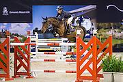 Lauren Hough - Ohlala<br /> Jumping Indoor Maastricht 2015<br /> © DigiShots