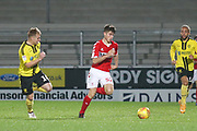 Kian Spence of Middlesbrough (52) makes a forward run during the EFL Trophy group stage match between Burton Albion and U21 Middlesbrough at the Pirelli Stadium, Burton upon Trent, England on 7 November 2018.