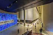 9/11 Memorial Museum,  Museum designed by Davis Brody Bond, or DBB, is the lead architect of the below ground Memorial Museum, Manhattan, New York City, New York