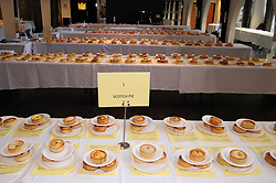 Scotch Pie Championships_Dunfermline Blcc_20-11-2019<br /> <br /> Some of the pies<br /> <br /> (c) David Wardle | Edinburgh Elite media