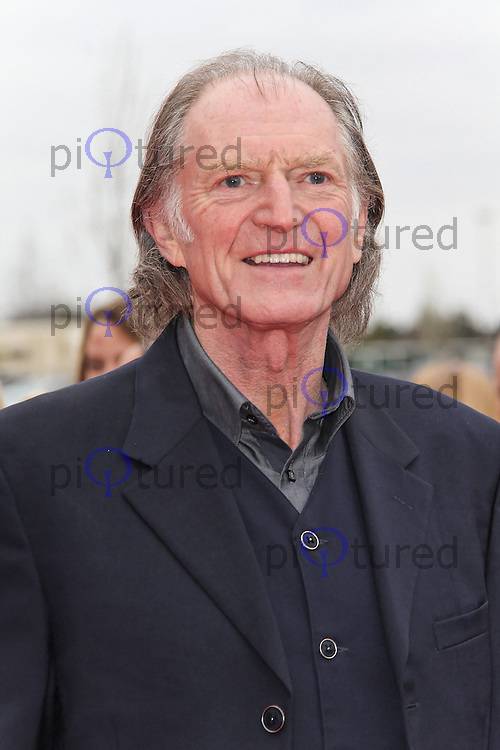 LEAVESDEN - MARCH 31: David Bradley attends the Worldwide Grand Opening of the Warner Bros. Studio Tour London  The Making of Harry Potter at Leavesden Studios, Watford, UK. March 31, 2012. (Photo by Richard Goldschmidt)