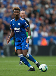 Demarai Gray of Leicester City in action - Mandatory by-line: Jack Phillips/JMP - 18/08/2018 - FOOTBALL - King Power Stadium - Leicester, England - Leicester City v Wolverhampton Wanderers - English Premier League