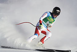 03.12.2017, Lake Louise, CAN, FIS Weltcup Ski Alpin, Lake Louise, Super G, Damen, im Bild Lara Gut (SUI) // Lara Gut of Switzerland reacts after the ladie's Super G of FIS Ski Alpine World Cup in Lake Louise, Canada on 2017/12/03. EXPA Pictures © 2017, PhotoCredit: EXPA/ SM<br /> <br /> *****ATTENTION - OUT of GER*****